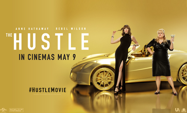 Image result for The Hustle poster""